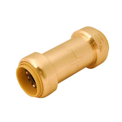 quick connect check valve