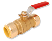 "Integrated Full Port Push Connect™ Ball Valve 3/8"" x 3/8"""