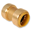 "Straight Push Coupling 1-1/4"" Dual Seal Technology"