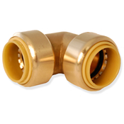 "Push Connect™ Elbow Fitting 3/4"" x 1/2"" PC Elbow"