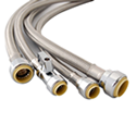 Toilet Push Connect Supply Hose
