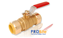 Push Connect ® ball valve